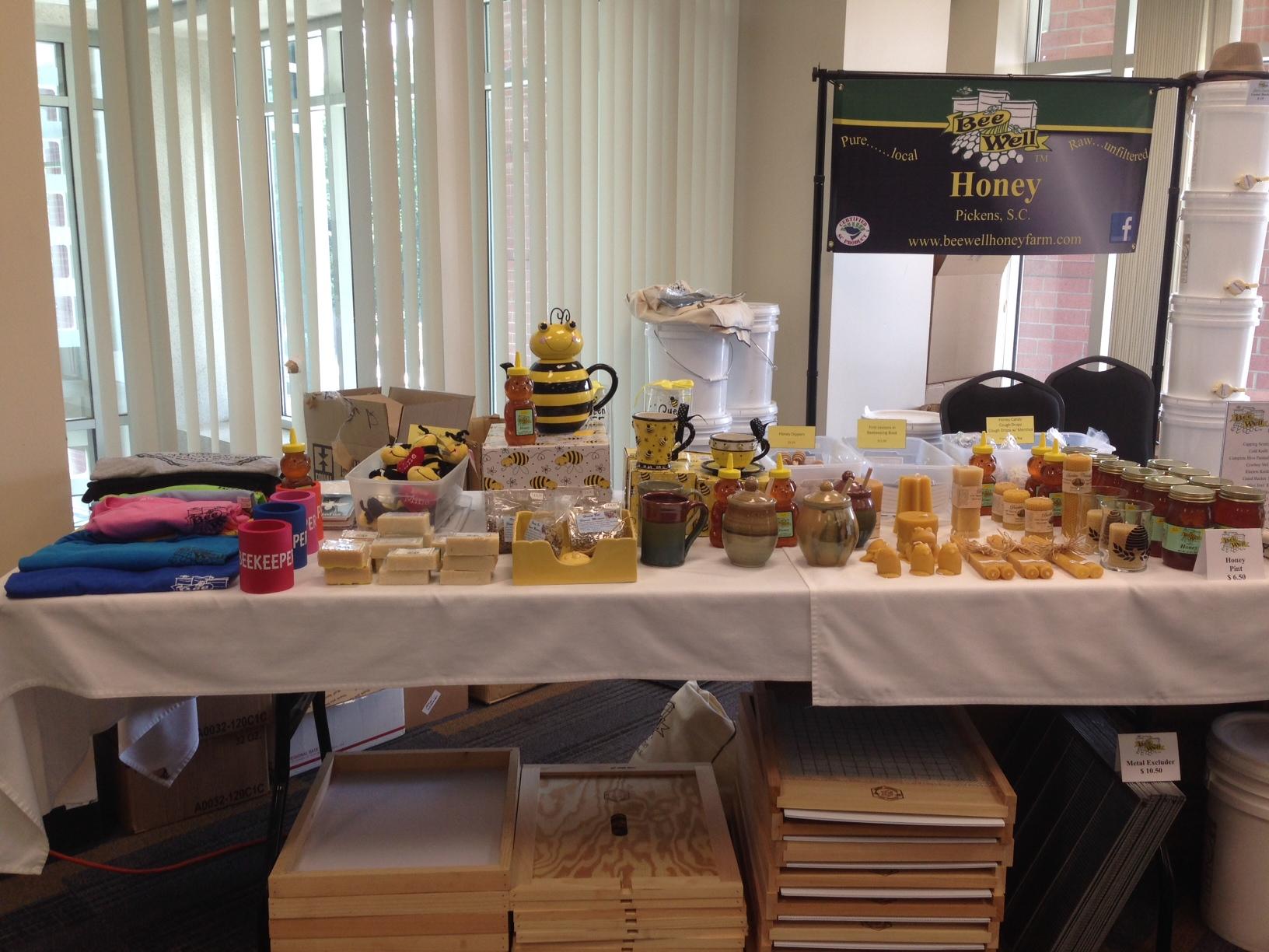 Bee Well Honey At Clemson