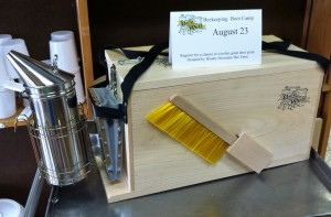Beekeeping Boot Camp Door Prize