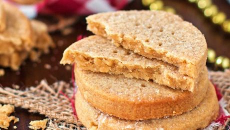 peanut butter and honey shortbread cookie recipe bee well honey farm